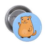 Happy Groundhog Day 6 Cm Round Badge