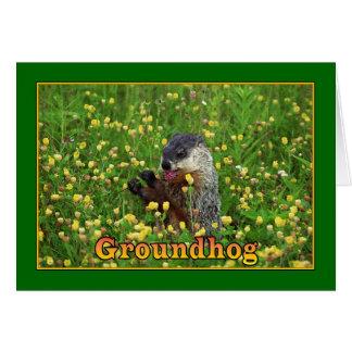 Happy Groundhog Day! Card