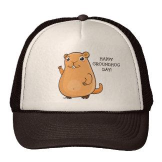 Happy Groundhog Day Trucker Hat