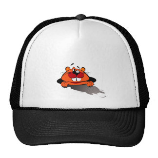 Happy Groundhog Day Mesh Hats