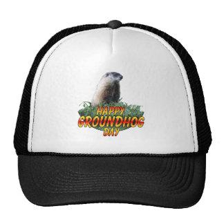 Happy Groundhog Day Hats