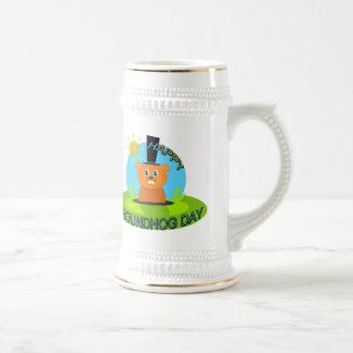 Happy Groundhog Day Sunshine Coffee Mugs