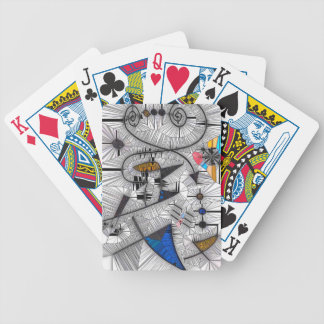 Happy Gryphons Bicycle Playing Cards