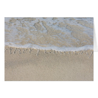 Happy Half Birthday-seashore Card