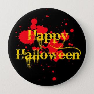 happy halloween 10 cm round badge