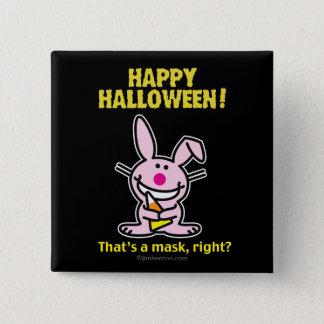 Happy Halloween! 15 Cm Square Badge
