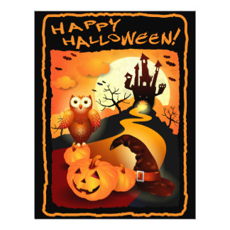 Happy Halloween! 21.5 Cm X 28 Cm Flyer