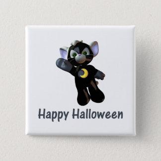 Happy Halloween (2) 15 Cm Square Badge