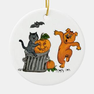 Happy Halloween! 5 Christmas Ornament