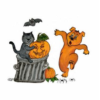 Happy Halloween! 5 - Pin Photo Sculpture Badge
