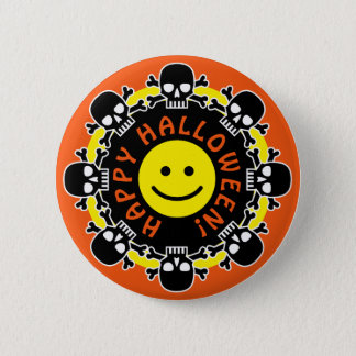 Happy Halloween 6 Cm Round Badge