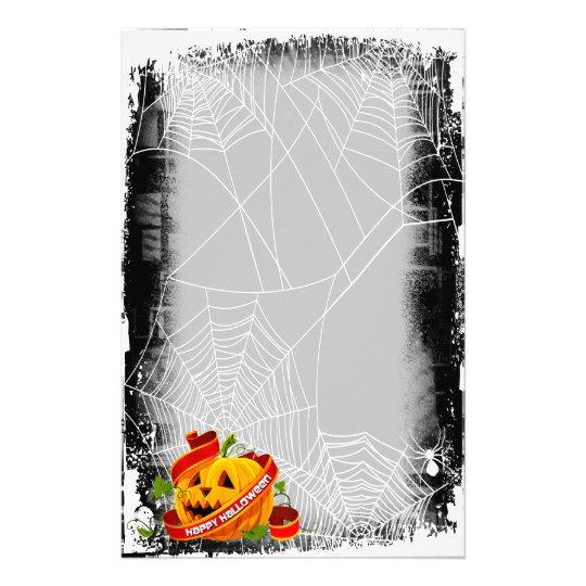 Happy Halloween 6 Stationary Stationery