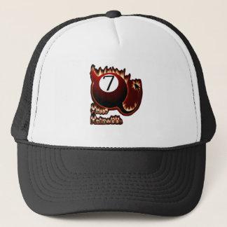Happy Halloween 7 Ball Devil Trucker Hat