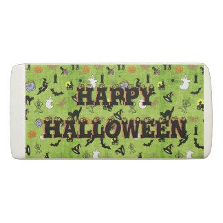 Happy Halloween - A Random Collage Pattern/Green Eraser