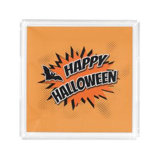 Happy Halloween Acrylic Tray