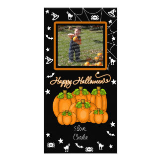 Happy Halloween (Add Your Photo and Text) Picture Card