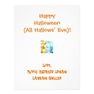 Happy Halloween (All Hallows' Eve)! 21.5 Cm X 28 Cm Flyer