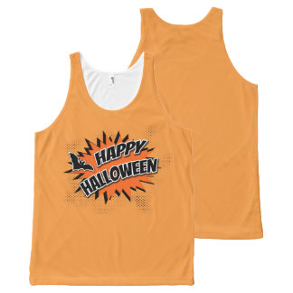 Happy Halloween All-Over Print Tank Top
