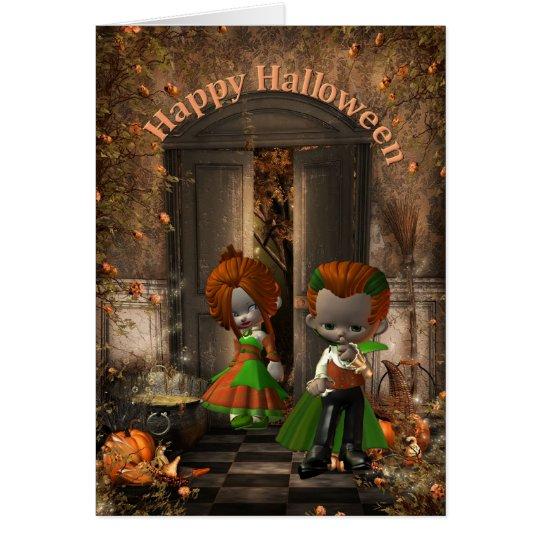 Happy Halloween-Anniversary Card