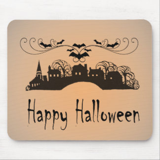 Happy Halloween Art Gifts Mouse Pad