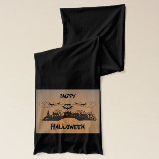 Happy Halloween Art Scarf