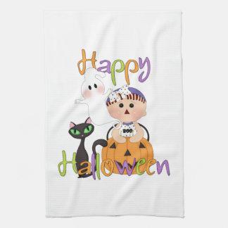 Happy Halloween Baby Friends Tea Towels