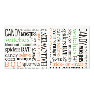 Happy Halloween Background Photo Cards