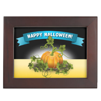 "'HAPPY HALLOWEEN""  BANNER MEMORY BOXES"