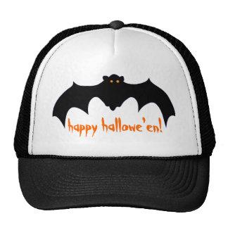 Happy Hallowe'en Bat Cap