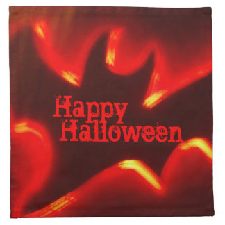 Happy Halloween Bat Cloth Napkin