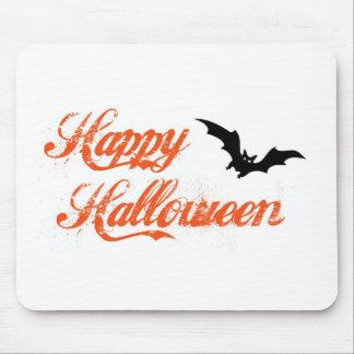 Happy Halloween - Bat Design Mouse Pad