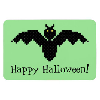 Happy Halloween! Bat Flexible Magnet