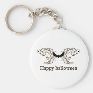 Happy Halloween bat Keychains
