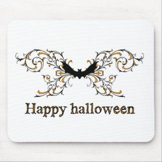 Happy Halloween bat Mouse Pad