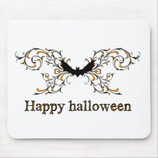 Happy Halloween bat Mousepads