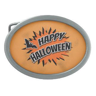 Happy Halloween Belt Buckle