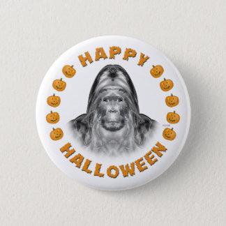 Happy Halloween Bigfoot 6 Cm Round Badge