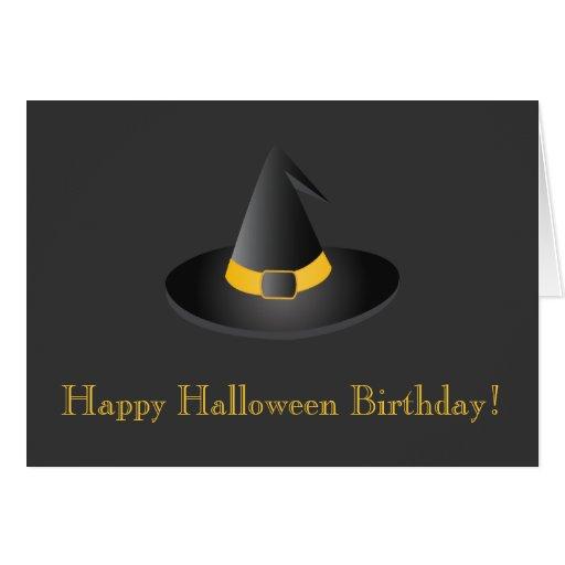 Happy Halloween Birthday! Card