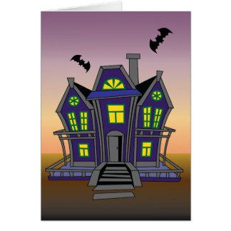 Happy Halloween Birthday Greeting Card