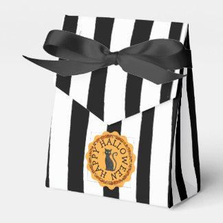 Happy Halloween Black Cat Favor Bag Favour Box