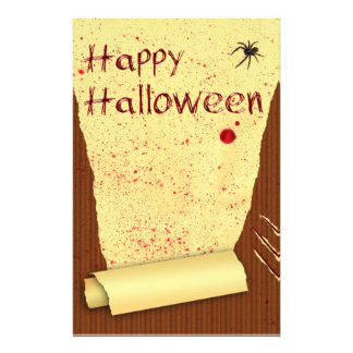 Happy Halloween Bloody Wallpaper - Stationery
