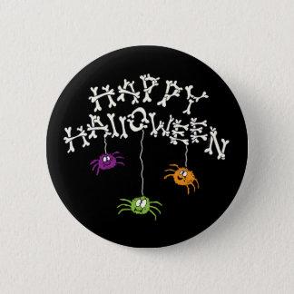 Happy Halloween Bones 6 Cm Round Badge