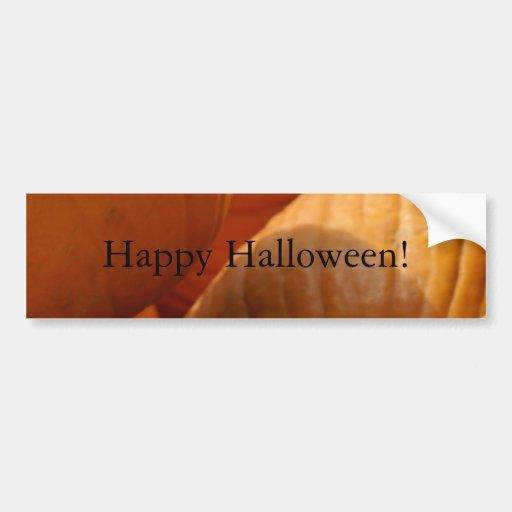 Happy Halloween! Bumper Stickers