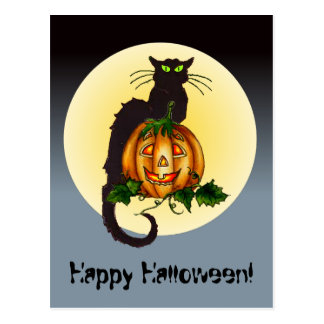 HAPPY HALLOWEEN by SHARON SHARPE Post Cards
