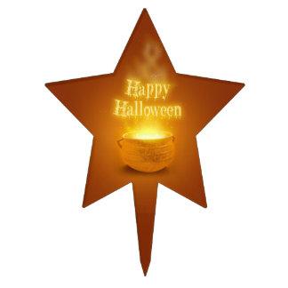 Happy Halloween Caldron - Cakepick Cake Topper