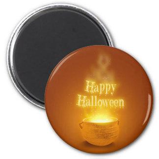 Happy Halloween Caldron - Magnet