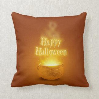 Happy Halloween Caldron - Pillow