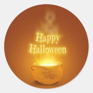 Happy Halloween Caldron - Sticker