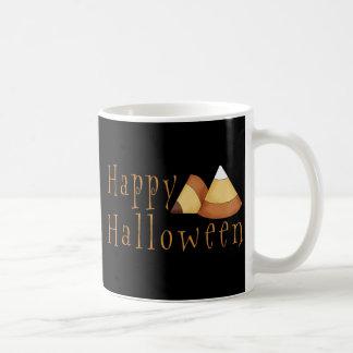 Happy Halloween Candy Corn Mugs