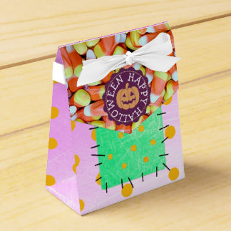 Happy Halloween Candy Corn Party Favor Bags Favour Box